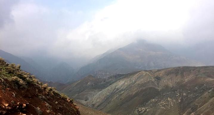 Photo de montagnes en Iran