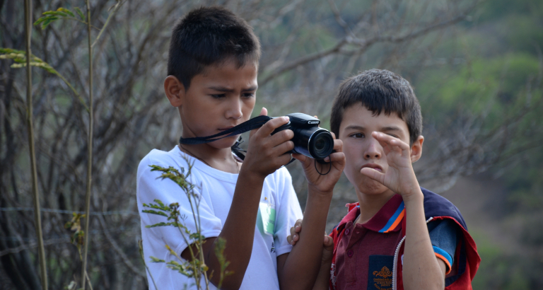 Atelier photo en Colombie